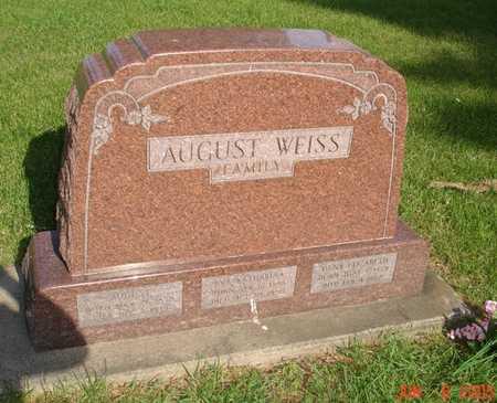WEISS, AUGUST - Clinton County, Iowa | AUGUST WEISS
