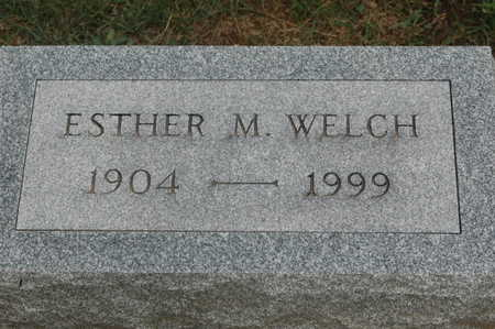 WELCH, ESTHER M. - Clinton County, Iowa | ESTHER M. WELCH