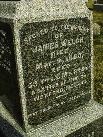 WELCH, JAMES - Clinton County, Iowa   JAMES WELCH
