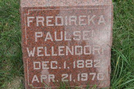 WELLENDORF, FREDIREKA - Clinton County, Iowa | FREDIREKA WELLENDORF