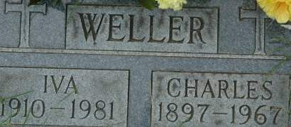 WELLER, CHARLES - Clinton County, Iowa | CHARLES WELLER