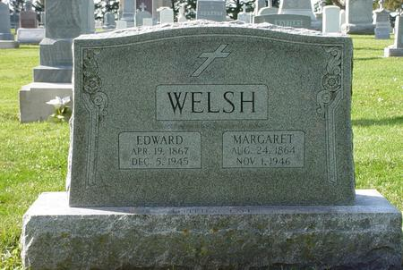 CLEARY WELSH, MARGARET ELLEN - Clinton County, Iowa | MARGARET ELLEN CLEARY WELSH