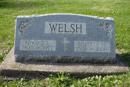 WELSH, EDWARD L. - Clinton County, Iowa | EDWARD L. WELSH