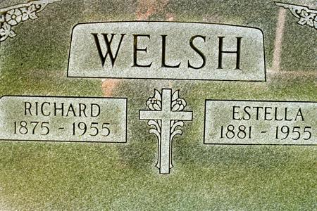 WELSH, RICHARD WILLIAM - Clinton County, Iowa | RICHARD WILLIAM WELSH