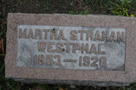 WESTPHAL, MARTHA - Clinton County, Iowa   MARTHA WESTPHAL