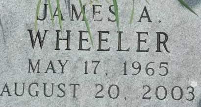 WHEELER, JAMES A. - Clinton County, Iowa | JAMES A. WHEELER