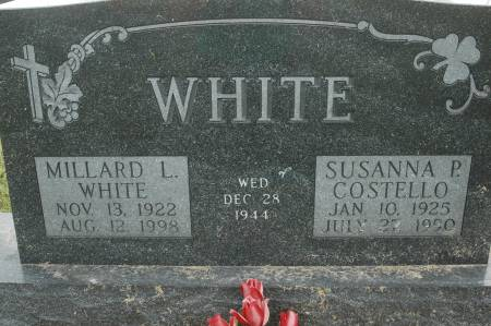 COSTELLO WHITE, SUSANNA P. - Clinton County, Iowa | SUSANNA P. COSTELLO WHITE