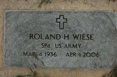 WIESE, ROLAND H. - Clinton County, Iowa | ROLAND H. WIESE