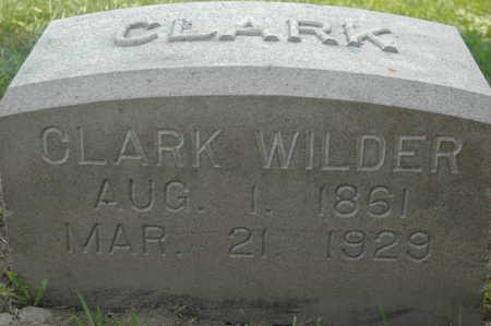 WILDER, CLARK - Clinton County, Iowa | CLARK WILDER