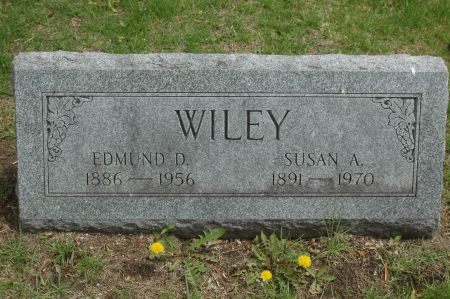 WILEY, EDMUND D. - Clinton County, Iowa | EDMUND D. WILEY
