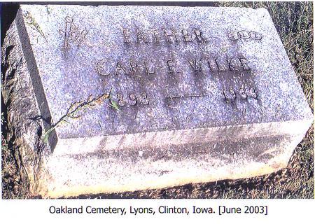 WILKE, CARL R. - Clinton County, Iowa | CARL R. WILKE