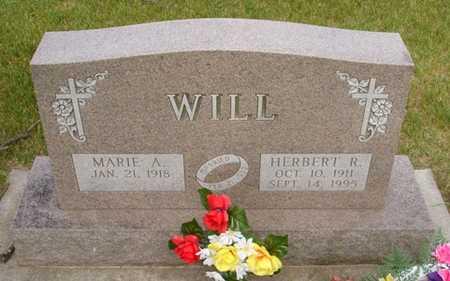 WILL, HERBERT R. - Clinton County, Iowa | HERBERT R. WILL