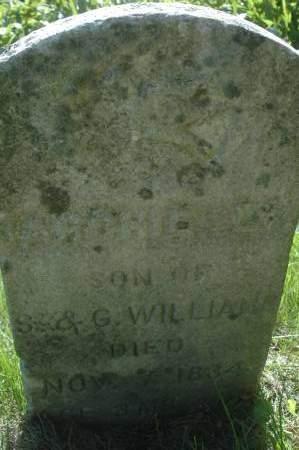 WILLIAMS, ARCHIE L. - Clinton County, Iowa   ARCHIE L. WILLIAMS