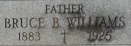 WILLIAMS, BRUCE B. - Clinton County, Iowa | BRUCE B. WILLIAMS