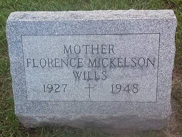 MICKELSON WILLS, FLORENCE - Clinton County, Iowa | FLORENCE MICKELSON WILLS