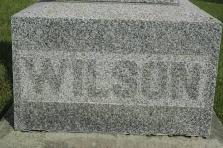 WILSON, FAMILY MONUMENT - Clinton County, Iowa   FAMILY MONUMENT WILSON