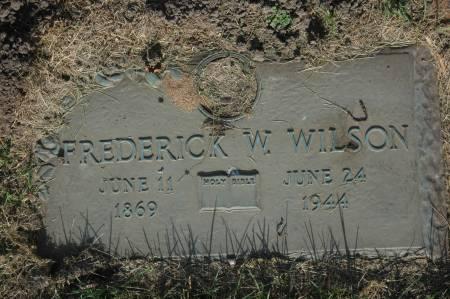 WILSON, FREDERICK W. - Clinton County, Iowa | FREDERICK W. WILSON