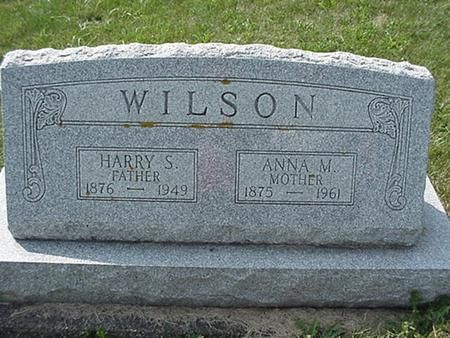 WILSON, HARRY - Clinton County, Iowa | HARRY WILSON