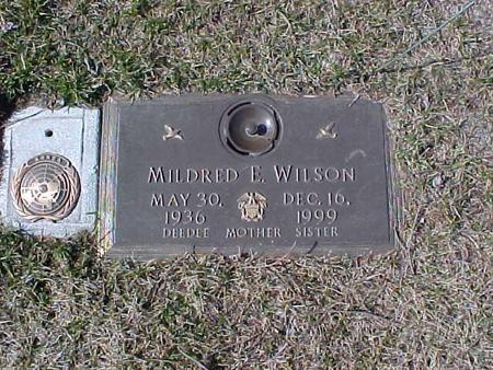 SIMPSON WILSON, MILDRED E. - Clinton County, Iowa | MILDRED E. SIMPSON WILSON