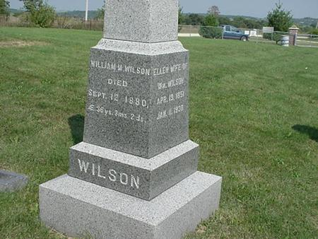 STUMBAUGH WILSON, ELLEN - Clinton County, Iowa | ELLEN STUMBAUGH WILSON