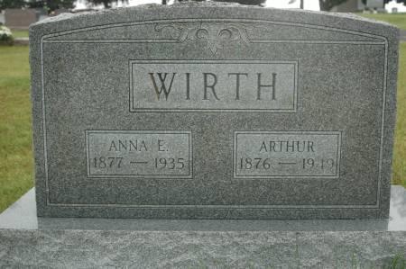 WIRTH, ARTHUR - Clinton County, Iowa | ARTHUR WIRTH