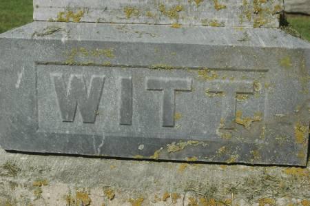 WITT, FAMILY MONUMENT - Clinton County, Iowa | FAMILY MONUMENT WITT