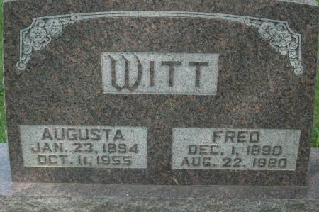 WITT, AUGUSTA - Clinton County, Iowa | AUGUSTA WITT