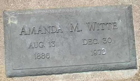 WITTE, AMANDA M. - Clinton County, Iowa | AMANDA M. WITTE