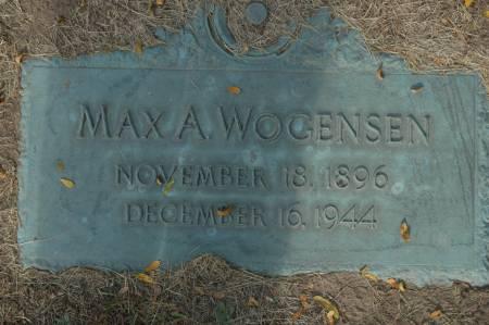 WOGENSEN, MAX A. - Clinton County, Iowa | MAX A. WOGENSEN
