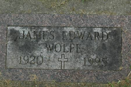 WOLFE, JAMES EDWARD - Clinton County, Iowa | JAMES EDWARD WOLFE