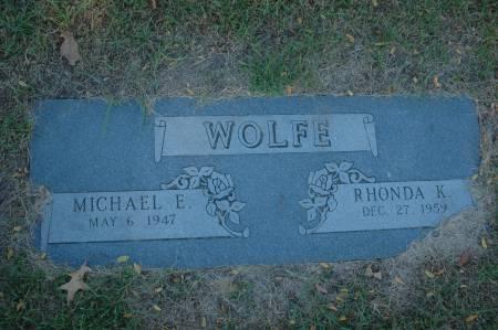 WOLFE, RHONDA K. - Clinton County, Iowa | RHONDA K. WOLFE