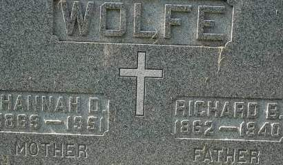 WOLFE, RICHARD B. - Clinton County, Iowa | RICHARD B. WOLFE