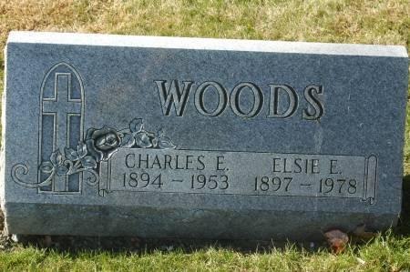 WOODS, CHARLES E. - Clinton County, Iowa | CHARLES E. WOODS