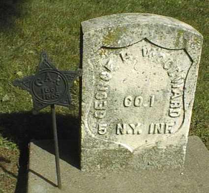 WOODWARD, GEORGE H. - Clinton County, Iowa | GEORGE H. WOODWARD