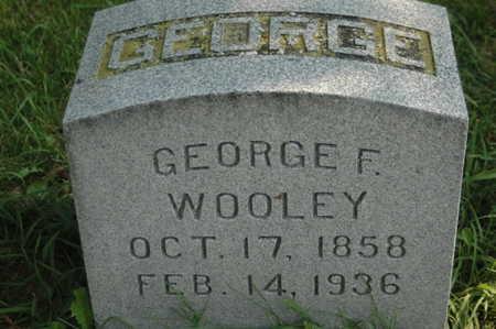 WOOLEY, GEORGE F. - Clinton County, Iowa | GEORGE F. WOOLEY
