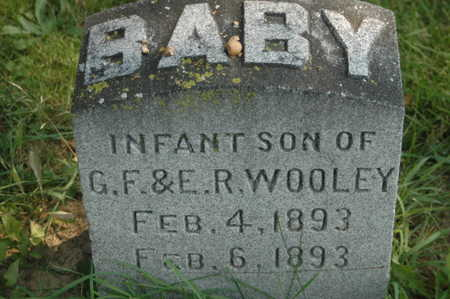 WOOLEY, INFANT SON - Clinton County, Iowa   INFANT SON WOOLEY