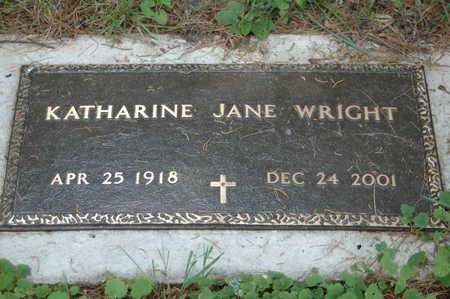 WRIGHT, KATHERINE JANE - Clinton County, Iowa | KATHERINE JANE WRIGHT