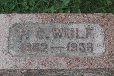 WULF, P.C. - Clinton County, Iowa   P.C. WULF