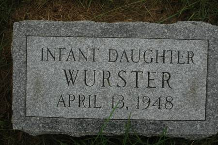 WURSTER, INFANT DAUGHTER - Clinton County, Iowa | INFANT DAUGHTER WURSTER