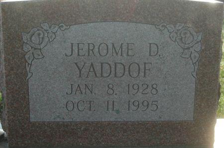 YADDOF, JEROME D. - Clinton County, Iowa   JEROME D. YADDOF
