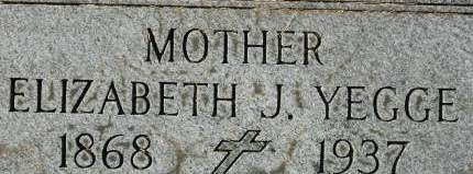YEGGE, ELIZABETH J. - Clinton County, Iowa | ELIZABETH J. YEGGE