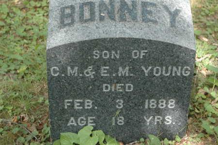 YOUNG, BONNIE - Clinton County, Iowa   BONNIE YOUNG