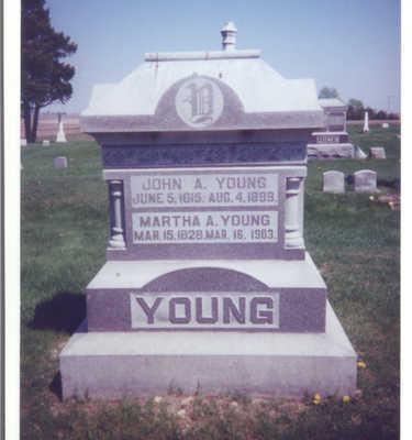 YOUNG, JOHN A. - Clinton County, Iowa | JOHN A. YOUNG