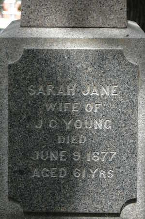 YOUNG, SARAH JANE - Clinton County, Iowa | SARAH JANE YOUNG