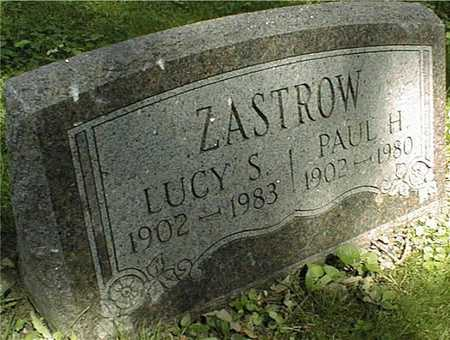 ZASTROW, PAUL H. - Clinton County, Iowa | PAUL H. ZASTROW