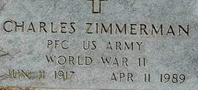 ZIMMERMAN, CHARLES - Clinton County, Iowa | CHARLES ZIMMERMAN
