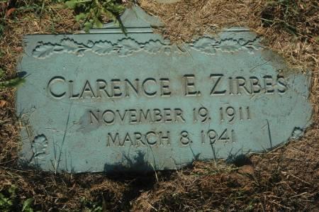 ZIRBES, CLARENCE E. - Clinton County, Iowa | CLARENCE E. ZIRBES