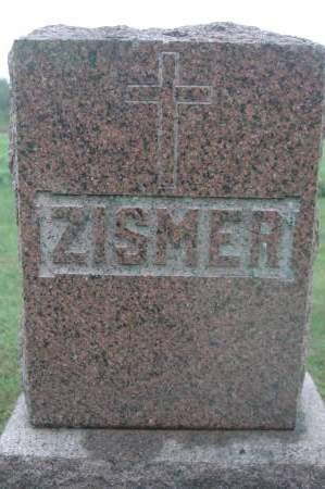 ZISMER, FAMILY MONUMENT - Clinton County, Iowa   FAMILY MONUMENT ZISMER