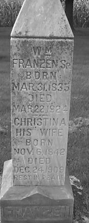 BOEHMER FRANZEN, CHRISTINA - Clinton County, Iowa | CHRISTINA BOEHMER FRANZEN