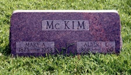 MCKIM, ALBERT E. AND MARY A. - Crawford County, Iowa | ALBERT E. AND MARY A. MCKIM